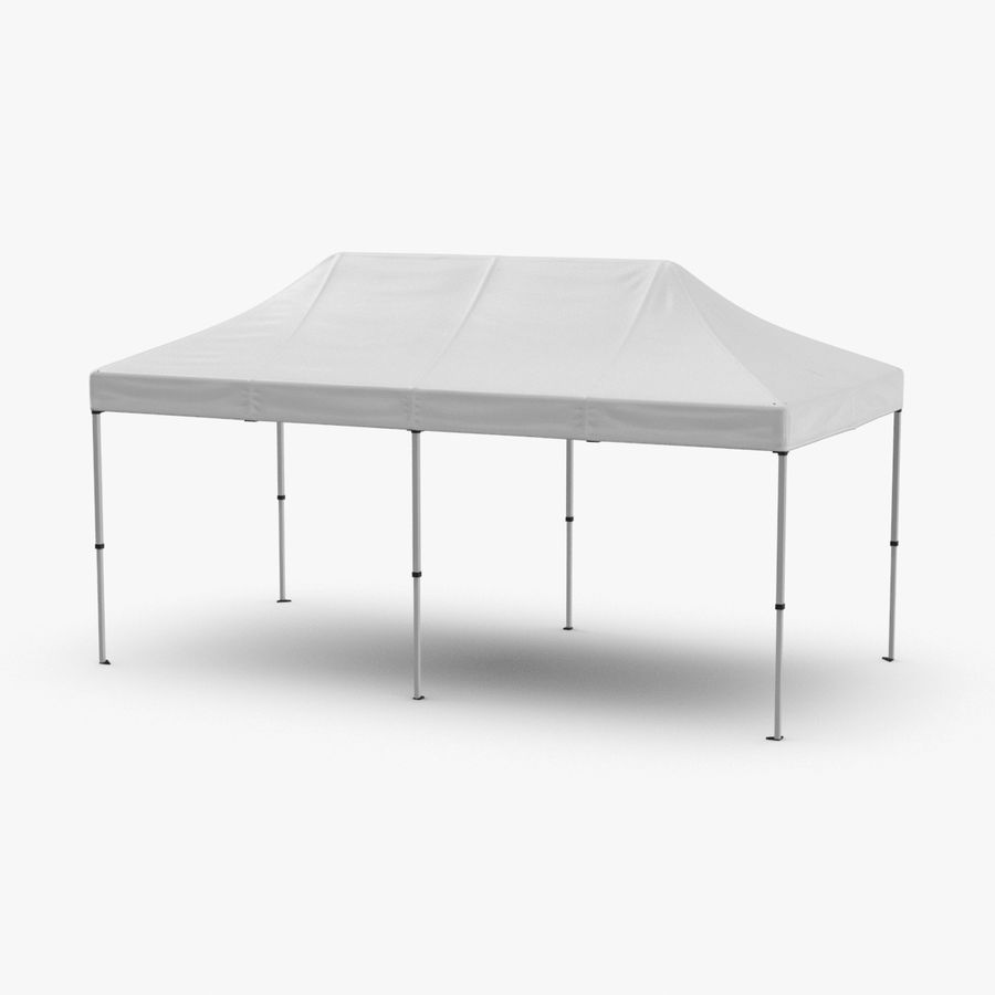 10x20 Tent 01 royalty-free 3d model - Preview no. 1