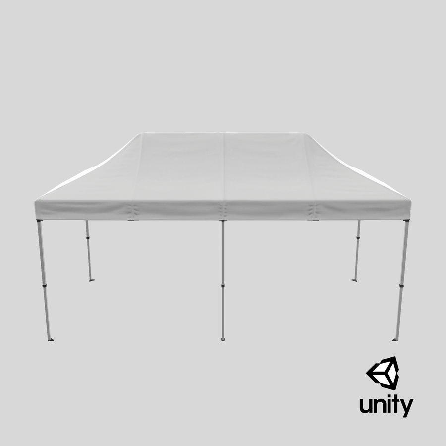 10x20 Tent 01 royalty-free 3d model - Preview no. 25