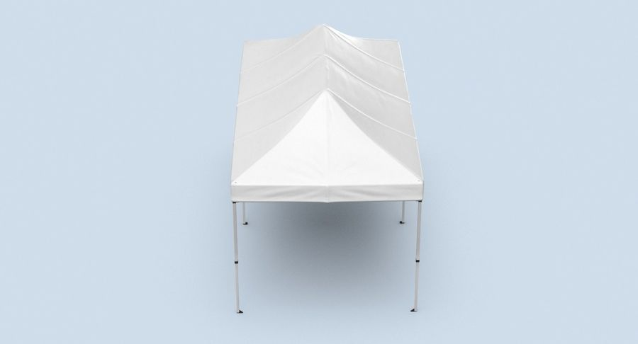 10x20 Tent 01 royalty-free 3d model - Preview no. 9