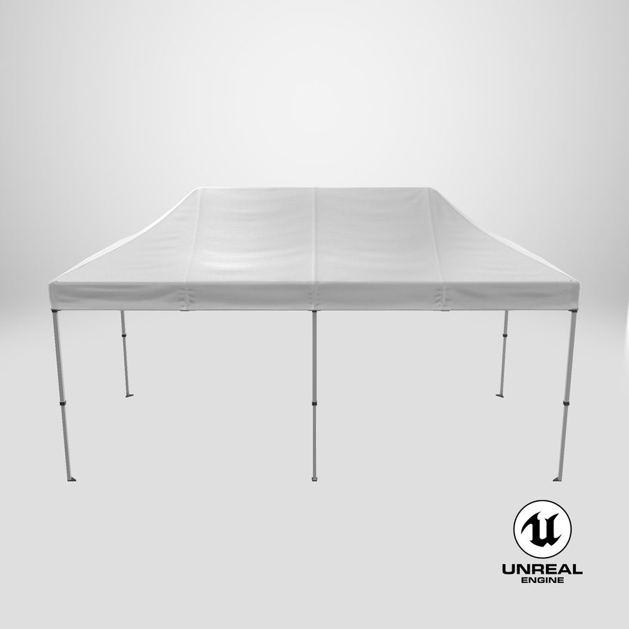 10x20 Tent 01 royalty-free 3d model - Preview no. 26