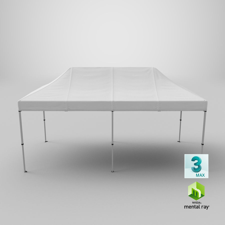 10x20 Tent 01 royalty-free 3d model - Preview no. 24