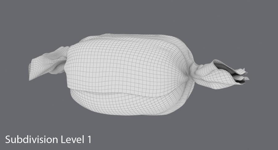 Doces Duros Laranja royalty-free 3d model - Preview no. 16