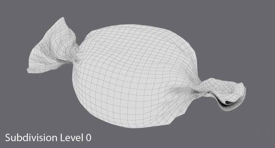 Doces Duros Laranja royalty-free 3d model - Preview no. 12