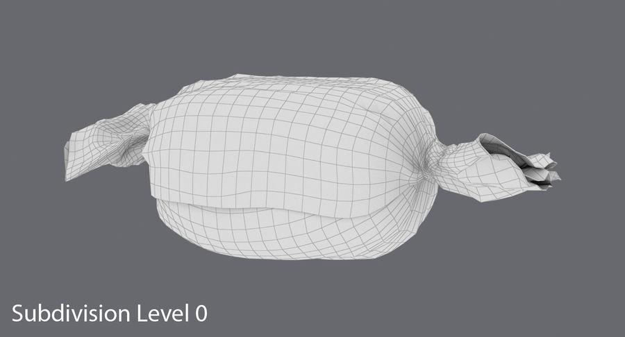 Doces Duros Laranja royalty-free 3d model - Preview no. 14