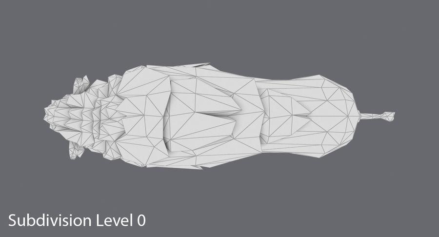 Buffalo uitgevoerd royalty-free 3d model - Preview no. 13