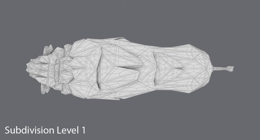 Buffalo uitgevoerd royalty-free 3d model - Preview no. 16