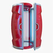 Vertical Solarium Bronzage Modèle 3D 3d model