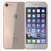 iPhone 8 Gold 3D模型 3d model