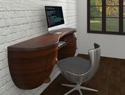 mesa de ordenador modelo 3d