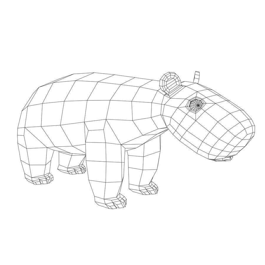 Urso polar royalty-free 3d model - Preview no. 7