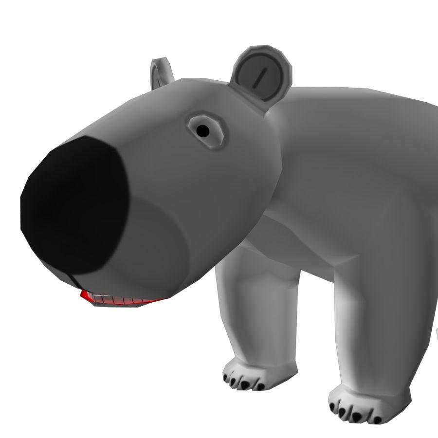 Urso polar royalty-free 3d model - Preview no. 5