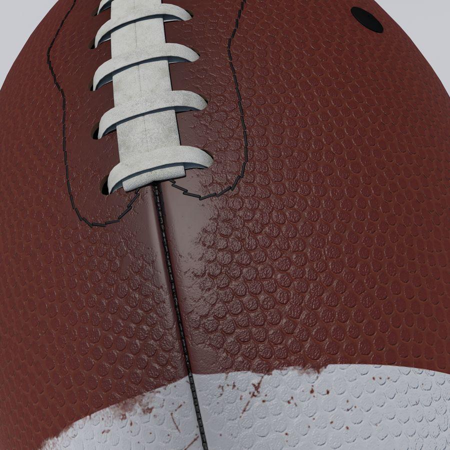 fútbol americano royalty-free modelo 3d - Preview no. 4