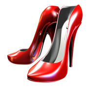 Cartoon Hi heels 3d model
