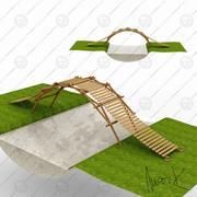 Ponte di emergenza 3d model