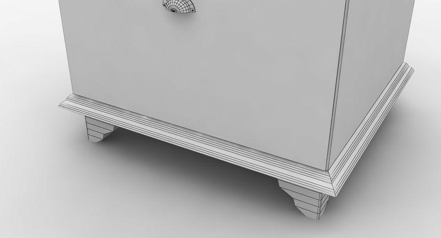 침대 탁자 royalty-free 3d model - Preview no. 15
