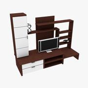 Luxe tv-toestel 3d model