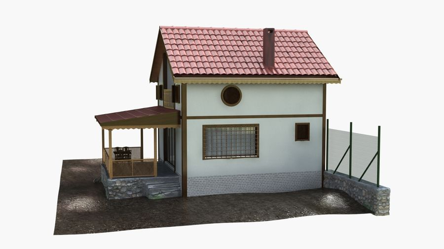 Zuhause royalty-free 3d model - Preview no. 6