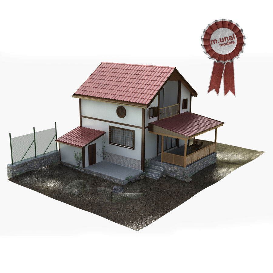 Zuhause royalty-free 3d model - Preview no. 1