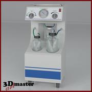 Medicinsk vakuumuttag 3d model