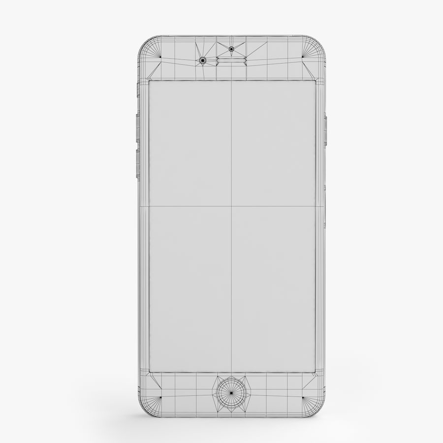 iPhone X + iPhone 8 + iPhone 8 Plus royalty-free 3d model - Preview no. 51