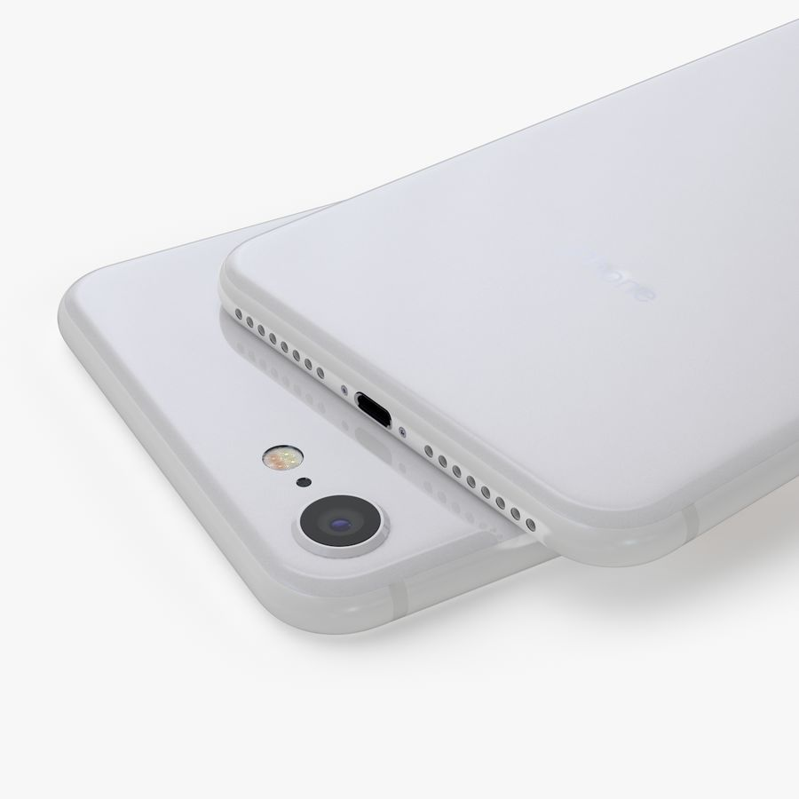 iPhone X + iPhone 8 + iPhone 8 Plus royalty-free 3d model - Preview no. 14