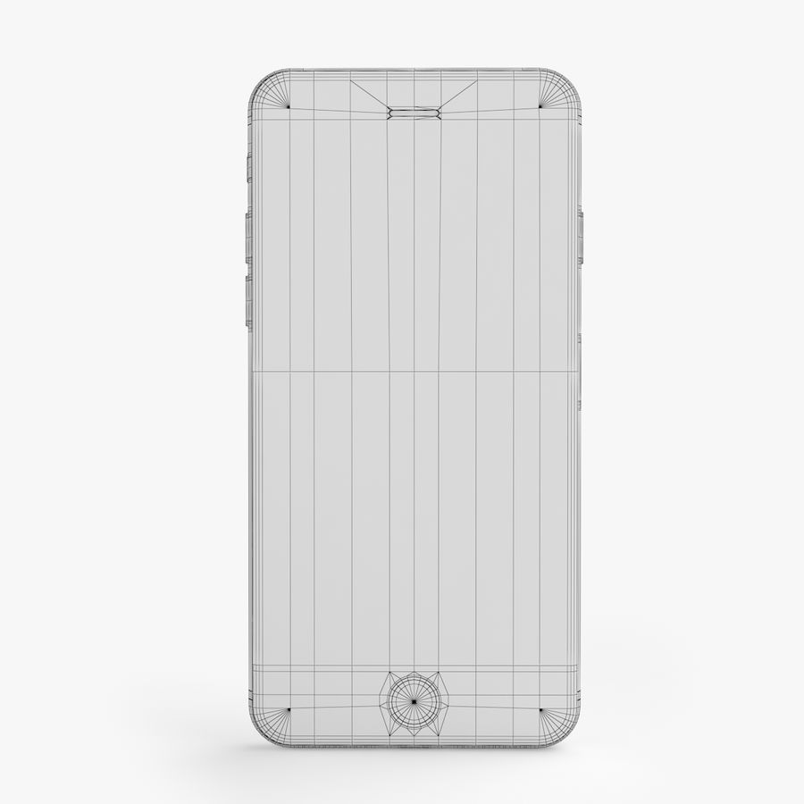 iPhone X + iPhone 8 + iPhone 8 Plus royalty-free 3d model - Preview no. 22
