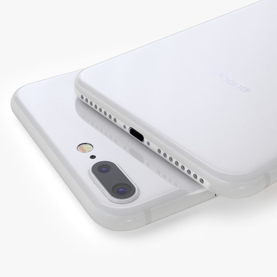 iPhone X + iPhone 8 + iPhone 8 Plus royalty-free 3d model - Preview no. 40