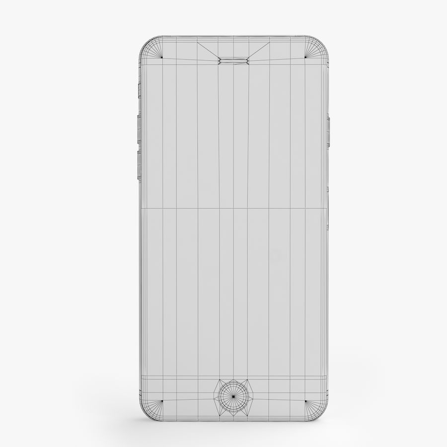 iPhone X + iPhone 8 + iPhone 8 Plus royalty-free 3d model - Preview no. 49