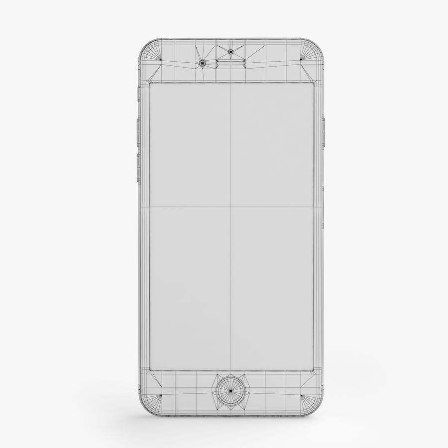 iPhone X + iPhone 8 + iPhone 8 Plus royalty-free 3d model - Preview no. 24
