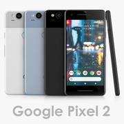 Google Pixel 2 modelo 3d