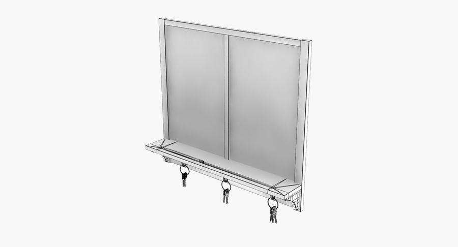 Tablica na klucze royalty-free 3d model - Preview no. 12