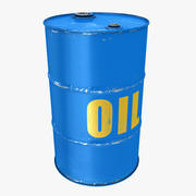 Baril de pétrole 3d model