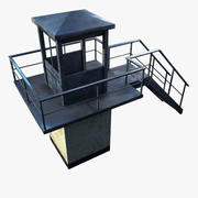 Wieża Więzienna 3d model