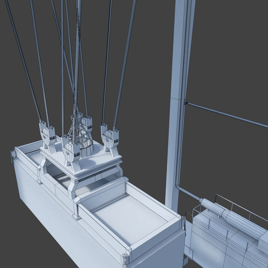 Crane royalty-free 3d model - Preview no. 23