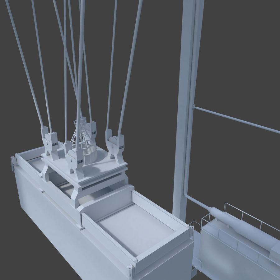 Crane royalty-free 3d model - Preview no. 11