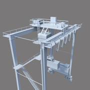 起重机 3d model