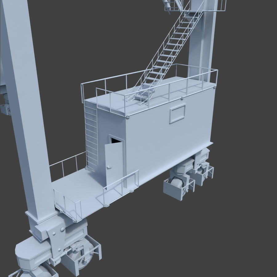 Crane royalty-free 3d model - Preview no. 14
