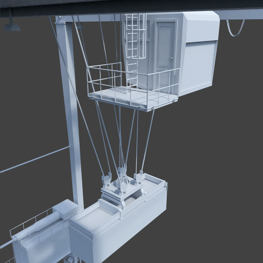 Crane royalty-free 3d model - Preview no. 16