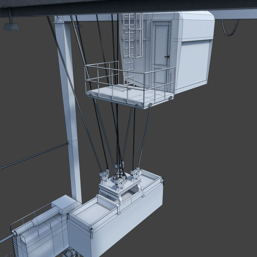 Crane royalty-free 3d model - Preview no. 28