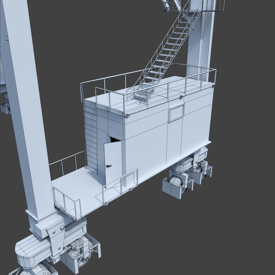 Crane royalty-free 3d model - Preview no. 26