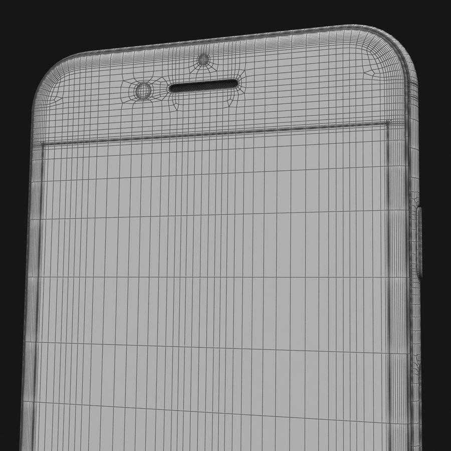 Apple iPhone 8 Gümüş royalty-free 3d model - Preview no. 42