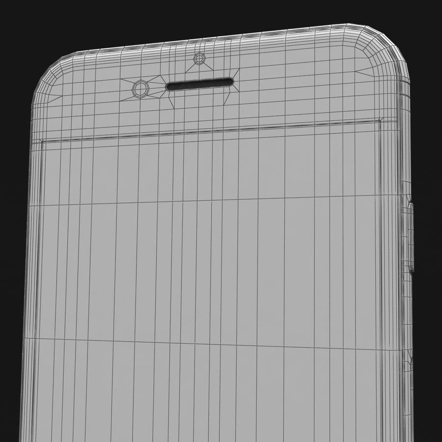 Apple iPhone 8 Gümüş royalty-free 3d model - Preview no. 43