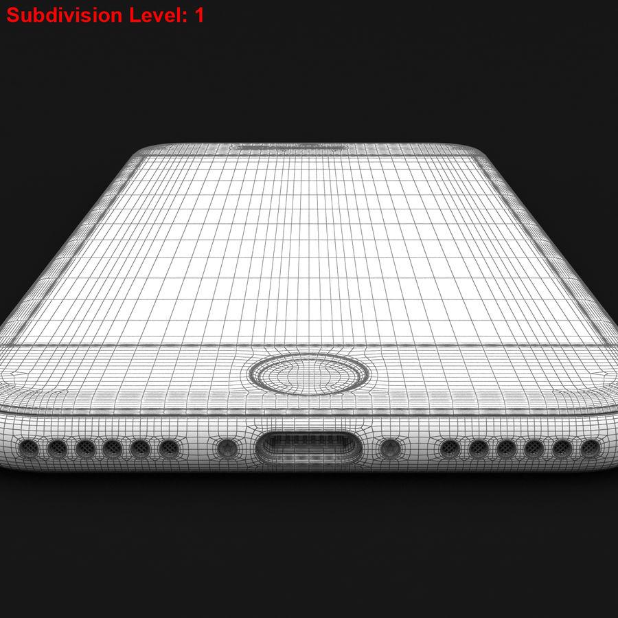 Apple iPhone 8 Gümüş royalty-free 3d model - Preview no. 30