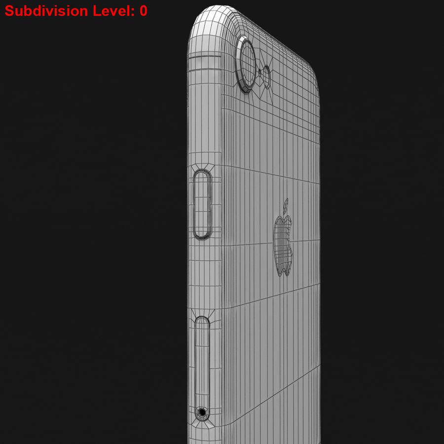 Apple iPhone 8 Gümüş royalty-free 3d model - Preview no. 33