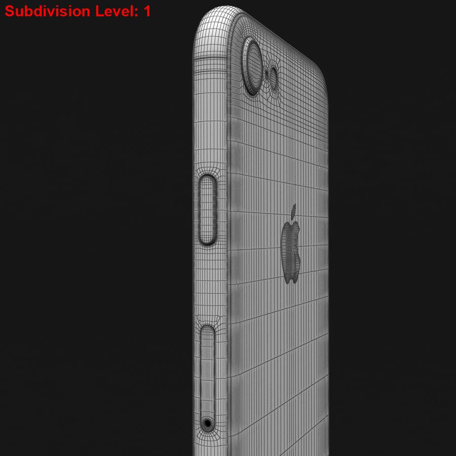 Apple iPhone 8 Gümüş royalty-free 3d model - Preview no. 32