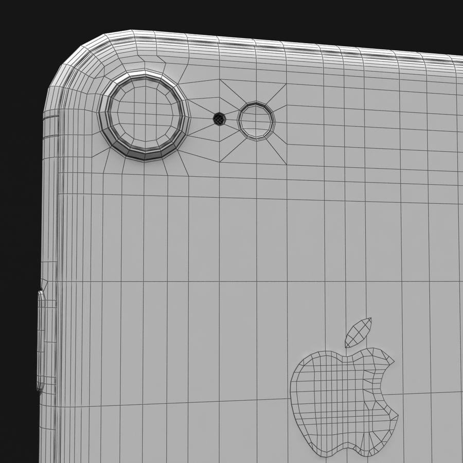 Apple iPhone 8 Gümüş royalty-free 3d model - Preview no. 37