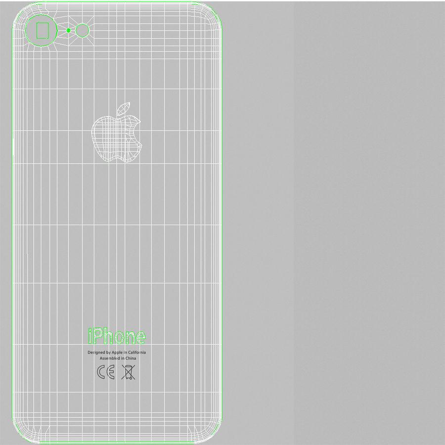 Apple iPhone 8 Gümüş royalty-free 3d model - Preview no. 26