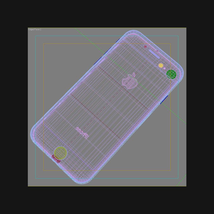 Apple iPhone 8 Gümüş royalty-free 3d model - Preview no. 44