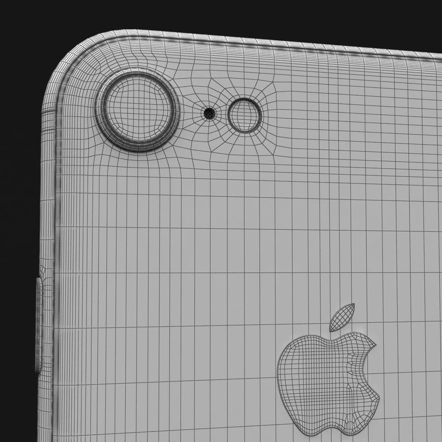 Apple iPhone 8 Gümüş royalty-free 3d model - Preview no. 36
