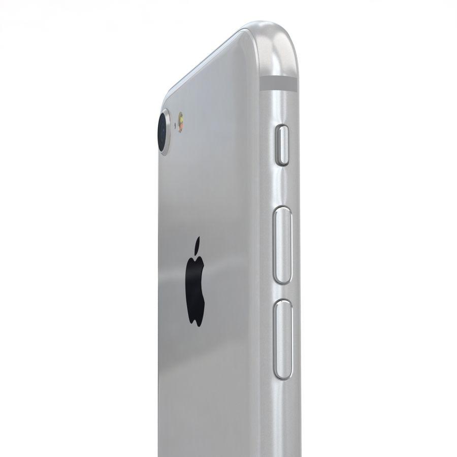 Apple iPhone 8 Gümüş royalty-free 3d model - Preview no. 19